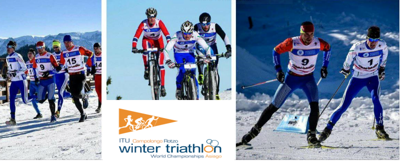 VM Vinter Triatlon Asiago i Italia